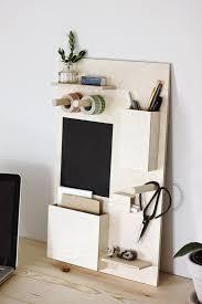 make it easy diy wooden desk organizer