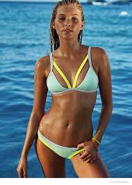 Elsa Hosk Takes A Hot Swim For Victoria S Secret Photos