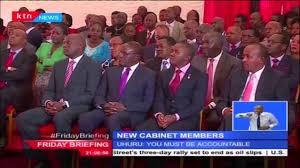 Us Cabinet Secretaries President Uhuru Asks Newly Appointed Cabinet Secretaries To Seek