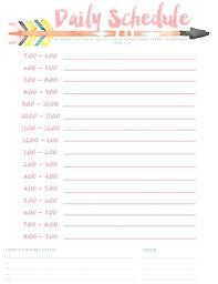 free schedule builder weekly calendar template hourly schedule printable online daily