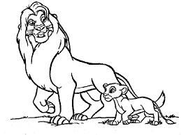 baby lion clipart black and white. Interesting Clipart Lion Coloring Page  Animals Town Free Color Sheet And Baby Clipart Black White A
