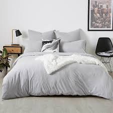 jersey grey marle quilt cover set