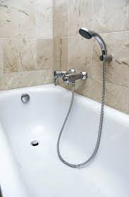 shower attachments bath with shower attachment stock photo shower head attachments for bathtubs