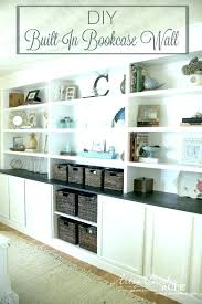 building wall shelves full size of to build a half bookshelf as diy between studs shelve