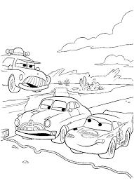 Cars Sceriffo Saetta Hudson Da Stampare E Colorare