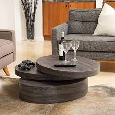 Mod living furniture Lenox Oval Image Unavailable Amazoncom Amazoncom Great Deal Furniture Lenox Oval Mod Rotating Wood Coffee