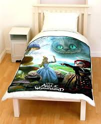 alice in wonderland bedding in wonderland bedding baby nursery lovely in wonderland bedding throw fleece blanket