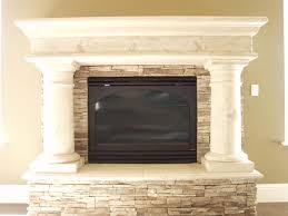 faux stone fireplace mantel in faux stone fireplace mantel