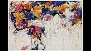 sam francis 薩姆弗朗西斯 1923 1994 color field painting al abstraction american