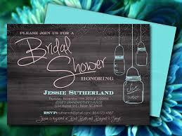 Bridal Shower Invitations Templates Microsoft Word Mason Jar Wood Bridal Shower Invitation Rustic Wedding Shower