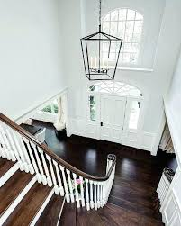 2 story foyer chandelier modern size hang