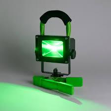 Green Led Work Light Lumii Green Led Work Light 10w Rechargeable Ultra Bright