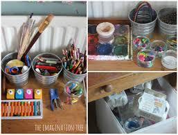 preschool art table. Art Materials For A Child\u0027s Creative Area Preschool Table