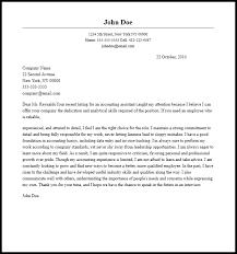 Assistant Accountant Cover Letter Sample Chechucontreras Com