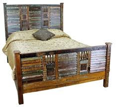 Rustic Western Bedroom Furniture Varnished Log Wood King Western Bedroom  Furniture Sets