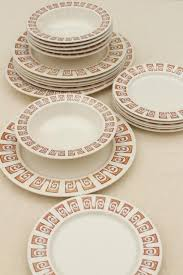 Patterned Dinnerware Amazing Vintage China Dishes And Dinnerware