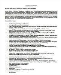 Payroll Accounting Job Description Payroll Administrator Job Description Acepeople Co