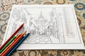 Small Picture Travel Between the Lines Adult Coloring Buy Now