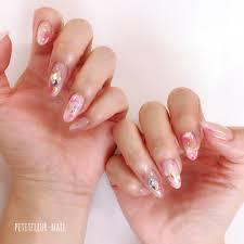 プティフルnaoさんのネイルデザイン 春ネイル ピンク ピンク