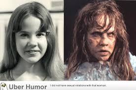 Exorcist Quotes Delectable Linda Blair As Regan Before And After Makeup Effects For THE