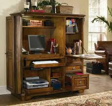 home office armoire. Delighful Office Decorating Compact Home Office In Cabinet Computer Armoire Desk Inside  Intended E