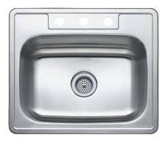 Winpro 25 L X 22 W Single Basin Drop In Kitchen Sink Wayfair