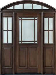 Front Door, Design: Single with 2 Sidelites w/ Transom, Solid ...