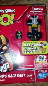 Hasbro Angry Birds Go Jenga Bomb's Race Kart Game - A6431 for sale online