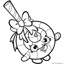 Shopkin Coloring Book Pages Printable Coloring Sheets 2 Pages
