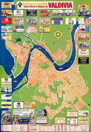 Plano urbano 2001 Santa María la Blanca de Valdivia. [material  cartográfico] : - Biblioteca Nacional Digital de Chile