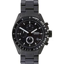 fossil watches men debenhams fossil men s black stainless steel chronograph watch ch2601