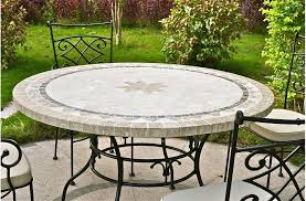 round outdoor table round outdoor patio table stone marble mosaic outdoor table tennis table reviews