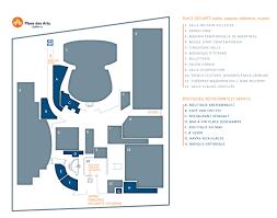 Map Of Place Des Arts Place Des Arts