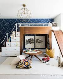 loft with slide. modern kid loft bed with slide