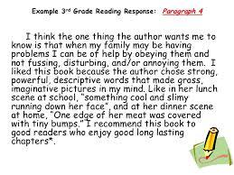 response essay to a book response to a