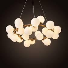 new pendant lighting. New Bubble Modern LED Pendant Lights Lamp For Living Dining Room Black Gold Magic Bean Lighting O
