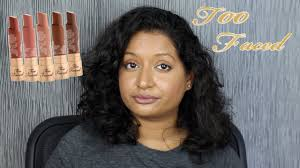 <b>Too Faced</b> Natural Nudes Lipstick - YouTube