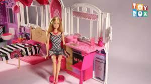 Nhà búp bê Baby Dream thư giãn cho bé Barbie Glam Getaway House