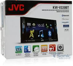 double din bluetooth in dash dvd cd am fm car stereo w 6 2 product jvc kw v220bt