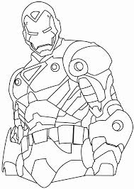 Ironman Coloring Pages Free Online Printable