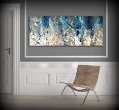 >large abstract painting print navy blue print art large canvas art  large abstract painting print navy blue print art large canvas art blue and white art print abstract canvas blue wall decor abstract artwork