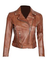 womens leather jackets black and brown real leather jacket women