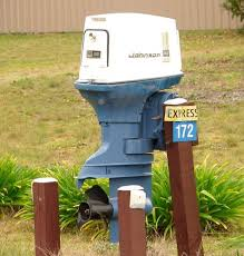 cool mailbox. Boat Engine Mailbox Cool
