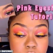 pink lemonade eye makeup tutorial