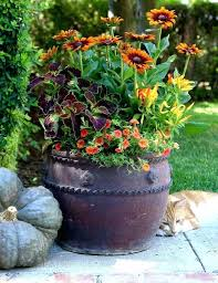large outdoor planter ideas inexpensive winter planters decorating flower pot