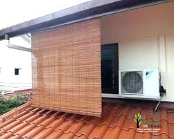 awesome outdoor bamboo roller shades x03612 outdoor roll up bamboo blinds patio shades matchstick inside plan