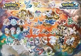 Pokemon Ultra Sun And Ultra Moon Legendary Pokemon