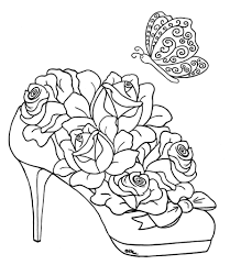 Small Picture Coloring Pages Draw A Rose For Kids 9 olegandreevme
