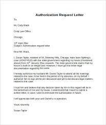 10 Letter Of Authorization Templates Sample Templates