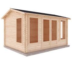 home office cabin. Mercia 5m X 4m Home Office Log Cabin S